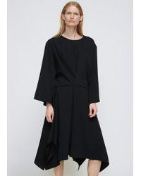 Dusan - Black Easy Square Dress - Lyst