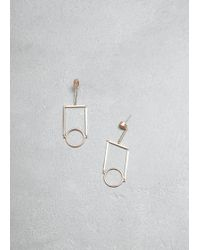 Mociun - Figure 12 Drop Earrings - Lyst