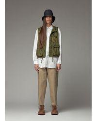 Engineered Garments Field Vest Jacket - Green