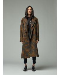 Ann Demeulemeester Coat - Multicolour