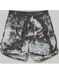 Rick Owens Drkshdw Dolphin Boxer Short - Black