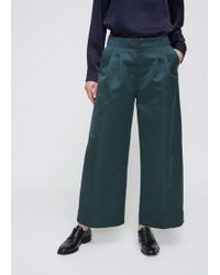 Nomia - Forest Pleated Wide Leg Pants - Lyst