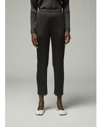 Pleats Please Issey Miyake Long Basics Pant - Black