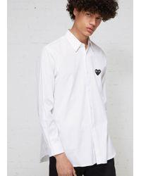 Play Comme des Garçons - Black Heart Shirt - Lyst