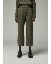 Oyuna Cropped Trouser - Green