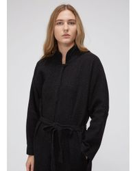 Black Crane - Long Sleeve High Neck Jumpsuit - Lyst