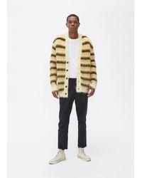 Marni Striped Mohair Cardigan - Multicolour