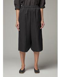 Comme des Garçons Wool Gabardine Drop Crotch Trouser Trousers - Black