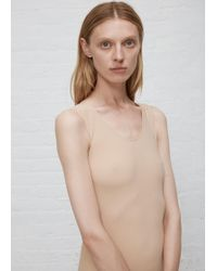Maison Margiela - Sleeveless Bodysuit - Lyst