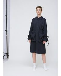 Xiao Li - Navy Big Pockets Shirt Dress - Lyst