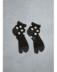 Y's Yohji Yamamoto Tabi Socks - Black
