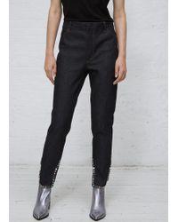 Toga - Navy Denim Trousers 1 - Lyst