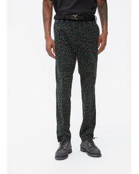 Sacai Leopard Pant - Green