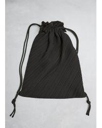 Pleats Please Issey Miyake | Drawstring Pleats Bag | Lyst
