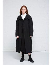 Y's Yohji Yamamoto | Long Coat | Lyst