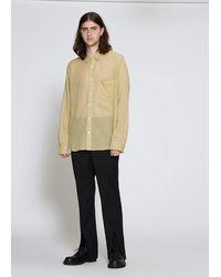 Ann Demeulemeester Tiriel Shirt - Natural