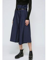132 5. Issey Miyake | Navy Paperbag Waist Pant | Lyst