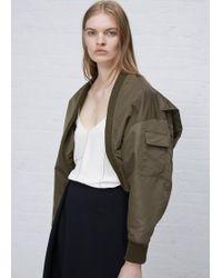 Hyke Olive Drab Wep Jacket - Green