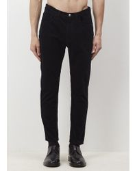 Acne Studios - Navy Cord Town Pants - Lyst