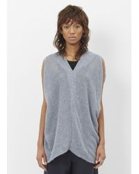 Oyuna - Sky Taupe Cashmere Tunic - Lyst