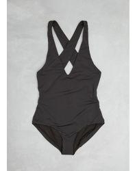 Shaina Mote - Onyx Ligne Swimsuit - Lyst