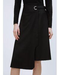 Viden - Black Ash Skirt - Lyst