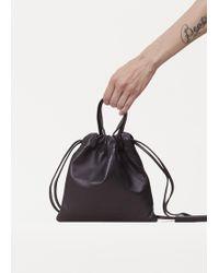 Robert Clergerie - Black Snap Shoulder Bag - Lyst