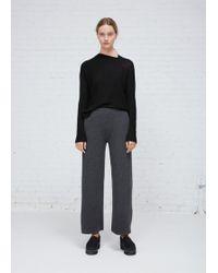 Oyuna | Graphite Cashmere Wool Trouser | Lyst