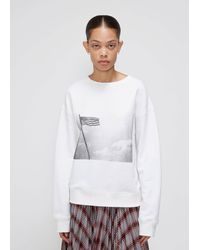 CALVIN KLEIN 205W39NYC Graphic Crew - White