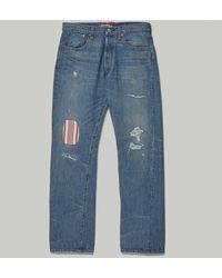 Junya Watanabe Levi's 501 Pant - Blue