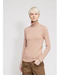 Viden - Striped Turtleneck - Lyst