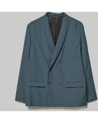 Lemaire Double Breasted Jacket - Gray