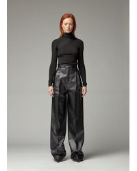 Peter Do Seatbelt Sweater - Black
