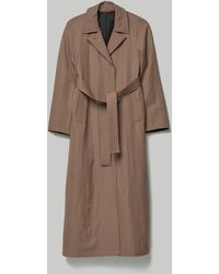 Lemaire Straight Coat - Brown