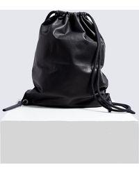Rick Owens - Drawstring Backpack - Lyst