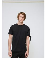 JW Anderson - Single Knot T-shirt - Lyst