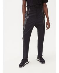 Rick Owens Paneled Long Astaire - Black