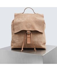 Marsèll - Suede Cartaino Backpack - Lyst