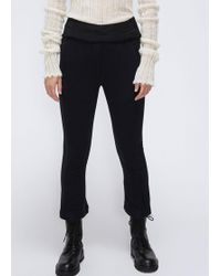 Ann Demeulemeester - Straight Leg Trousers - Lyst