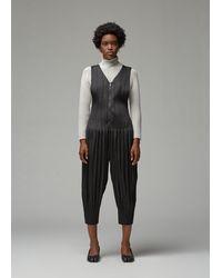 Pleats Please Issey Miyake Fluffy Basics Jumpsuit - Black
