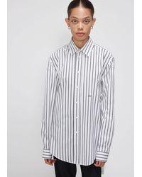 Off-White c/o Virgil Abloh Stripe Basic Shirt - White