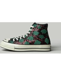 Converse Sequin High Top Trainer - Green