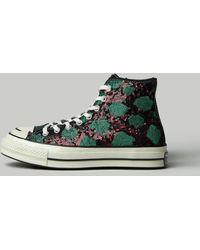Converse Sequin High Top Sneaker - Green