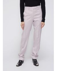 CALVIN KLEIN 205W39NYC Side Stripe Straight Leg Trouser Pants - Multicolour