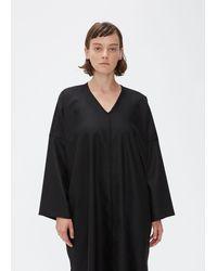 Oyuna V-neck Dress - Black