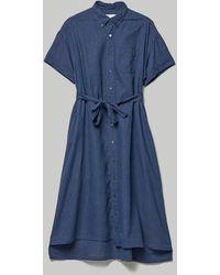 Engineered Garments Bd Shirt Dress - Blue