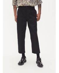 Lemaire Twill Chino Pant - Black