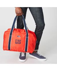 Paravel Fold-up Bag - Red