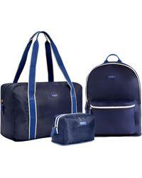 Paravel Packs In A Zip Bundle - Blue