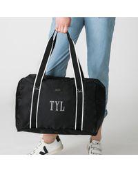 Paravel Fold-up Bag - Black
